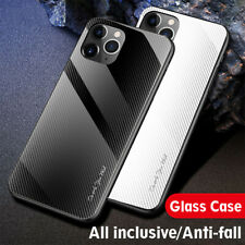 Shockproof Luxury Slim Hybrid Case Gradient Glass Cover For iPhone 11 Pro Max 11