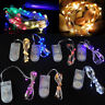 10/20/30 LED Battery Power Operated Copper Wire Mini Fairy Lights String HOT