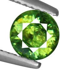 0.93ct 100% Natural earth mined rare green horsetail demantoid garnet Russia