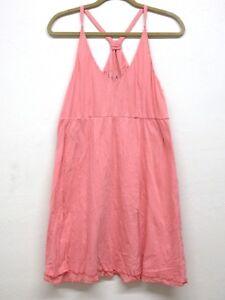 NEW Da-Nang Women's Summer Dress V-Shirt Dress Flowy CRAYO CFG182 L