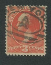 1887 US Stamp #214 Used F/VF New York A Cancel Catalogue Value $50