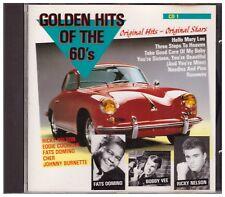 Golden Hits of the 60's CD +++ excellent état +++
