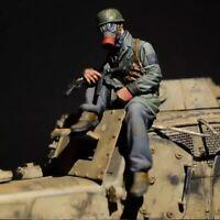 1/35 Resin Figure Model Kit Stalker German Soldiers WWII Unpainted Unassambled