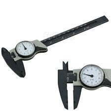 1pc 150mm 6inch Dial Caliper Plastic Vernier Caliper 4 Way Gauge Micrometer Hot