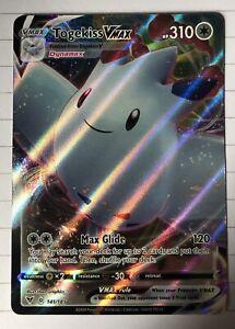 Pokemon Card - Togekiss VMAX 141/185 - Vivid Voltage - Full Art, pack fresh
