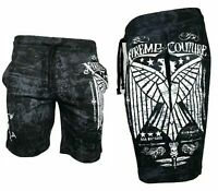 XTREME COUTURE AFFLICTION Men Shorts CONNECT Athletic Fighter MMA S-5XL