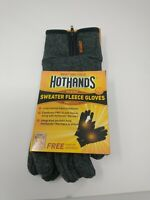 HotHands Heated Gloves - L/XL - Gray Fast Shipping and Free Pair of Warmers inc