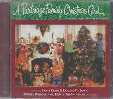 PARTRIDGE FAMILY CHRISTMAS CARD  DAVID CASSIDY NEW CD