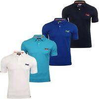 Superdry Mens 'Mercerised Lite City' Polo T-Shirt
