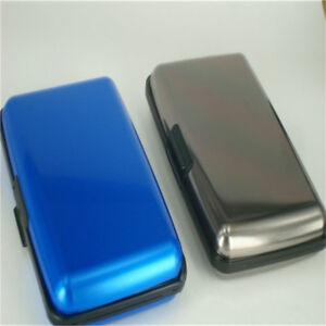 New Alloys Aluminum Pocket Business Name Credit ID Card Case Box Holder