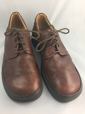 Johnston & Murphy e-collection Italy Brown Leather Oxfords Casual Size 9M