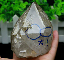 699g  NATURAL Unique skeletal Crystal Water Gallbladder Quartz point