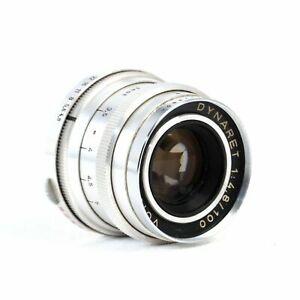 • Voigtländer Dynaret f4.8 100mm Telephoto Lens Germany