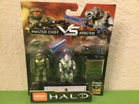 MEGA CONSTRUX PRO BUILDERS FINAL SHOWDOWN: HALO - Master Chief Vs Arbiter GNN72