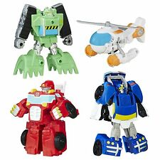 Playskool Transformers Rescue Bots Boulder Blades Police Heatwave Ages 3 New Toy