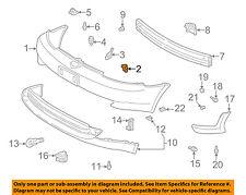 TOYOTA OEM 00-02 Echo Front Bumper-Bumper Cover Side Support Left 5211652010