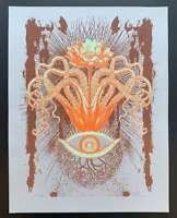 Space Flower Art Print Lindsey Kuhn S/N