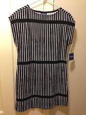 Marimekko for Target Dress Tunic Sz S Striped Black   White Ministeri a5e89397f5
