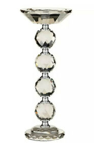 Smokey Diamond Tealight Pilar Candle Holder Stand Wedding Table Decor Gift Xmas
