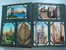 More details for album vintage pre-1914 american topographical incl. 191 postcards. free postage
