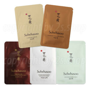 [Sulwhasoo] Amorepacific 5 Type Mask - Korea Cosmetics