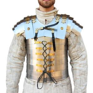 Medieval Replica Roman Empire Soldier Lorica Segmentata 20g Full Body Armor