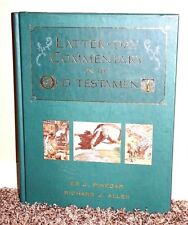 LATTER-DAY COMMENTARY ON THE OLD TESTAMENT by Pinegar & Allen 2001 LDS MORMON HB