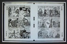 Original Production Art X-MEN #11, pages 14 & 15, JACK KIRBY art