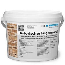 Orig. Ruberstein® Historischer Fugenmörtel Spachtel natur, 2 kg Eimer