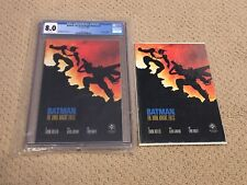 Batman Dark Knight Returns 4 CGC 8.0 White Pages (Classic Cover)+ extra + magnet