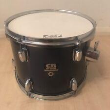 "More details for tom drum for drum kit dark blue 13"" x 10"" aquarian batter head free uk p&p"