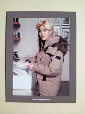 Exo K M KOLON SPORT Polaroid Official Post Photo Card Postcard - Suho