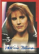 """Babylon 5 Season 4 - A7 Patricia Tallman """"Lyta Alexander"""" Autograph Card"""