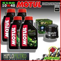 Inspection Set MOTUL 5100 10W40 + Filter Hiflo Honda CBR 1100 Blackbird 1997