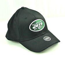 NEW YORK JETS Black Surf Arch Flex Hat Cap NFL Team Apparel