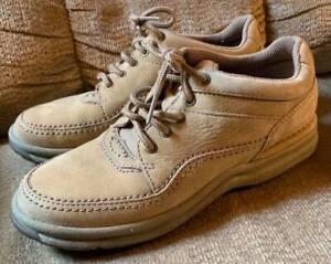 Rockport Women's Walking Shoe Tan Leather WWT13M (size 7.5)