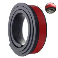 1X Universal Car Wheel Rubber Mudguard Trims Protection Anti-Collision Mudguard
