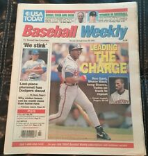 Baseball Weekly June 30, 1992 Women In Baseball Atlanta Braves Minnesota Twins