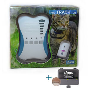 Girafus Pet tracker Cat Tracker Pet Safety Tracking Device  Range up to 1600 ft