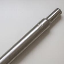 Titane Tige de Selle pour Brompton Bicyclette 550mm (129g Plus Claire) Argent