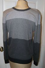 DONNA KARAN DKNY -sz S GRAYS LAYERED HANDSOME SWEATER -  - NWT