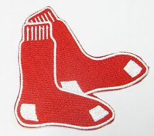 LOT OF (1) MLB BOSTON RED SOCKS EMBROIDERED PATCH PATCHES ITEM # 42