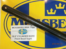"MOSSBERG 500A Factory New 18.5"" 12ga Security Barrel Ships FREE!"