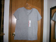 grey womens tee by time and tru size s