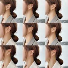 Crystal Zirconia Earrings Ear Wrap Crawler Hook Women Gifts Wedding Jewelry U8S5