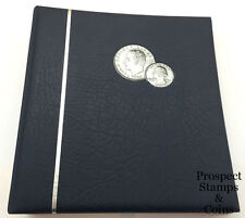 Lighthouse NUMIS Coin Album (Holds 143 coins) - Brand new - Blue cover