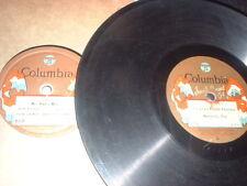 78RPM 2 Columbia by Ted Lewis, Mr. Radio Man, Dream Daddy, Sample Favorites Poor