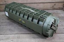 US Munitionsbehälter oliv Kunststoff wasserdicht Munitionskiste Army Bodenhülse