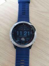 Garmin Quatix (Fenix) 6x Pro Solar GPS titanium Running Marine read description