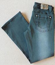 Women's River Island Bootcut Jeans Size 10S (36S) W27 L29 Black Stretch Low Rise